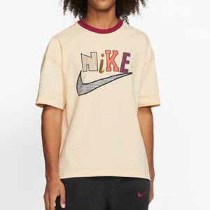 Nike Men's Sportswear T-Shirt mix print logo XXL